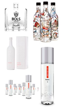 As melhores embalagens de vodka