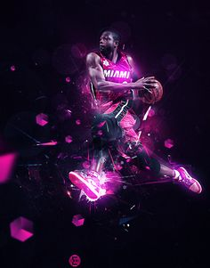 Basketball For Sale Code: 3841529833 Miami Heat Basketball, Nba Miami Heat, Basketball Legends, Sports Basketball, Lebron James, Dwyane Wade Wallpaper, Basketball Background, Nba Pictures, Basketball Photography