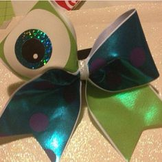 Monsters, Inc / Monsters University Cheer Bow