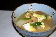 Quick and Easy Winter Soup - Bukeo Guk (Dried Pollack Soup)   Korean Bapsang