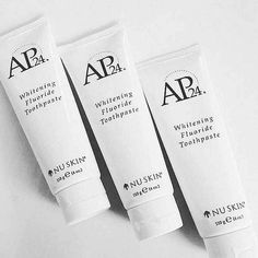 AP 24 Anti-Plaque Fluoride Toothpaste uses a safe, gentle form of fluoride to remove plaque and protect against tooth decay. Nu Skin, Ap 24 Whitening Toothpaste, Blush Beauty, Stained Teeth, Oral Hygiene, Skin Tips, Nail Trends, Winter Nails, Skin Care
