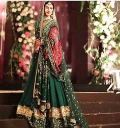 Sabyasachi Collection at this Pakistani wedding is something to look for! Pakistani Wedding Outfits, Indian Bridal Outfits, Indian Bridal Fashion, Pakistani Wedding Dresses, Indian Dresses, Pakistani Bridal Lehenga, Pakistani Bridal Makeup Red, Pakistani Wedding Photography, Latest Pakistani Fashion