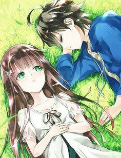 Visit the post for more. Manga Couple, Anime Love Couple, Cute Anime Couples, I Love Anime, Anime Cupples, Kawaii Anime, Anime Art, Sousei No Onmyouji Benio, Adashino Benio