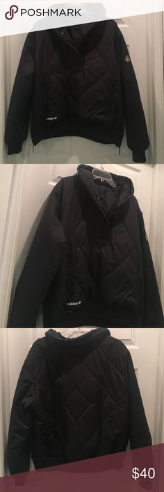 Adidas Puffer Jacket Pullover Size XL Cut small Adidas Jackets & Coats Puffers