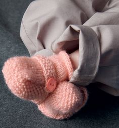 Modèle chaussons bébé - Modèles Layette - Phildar