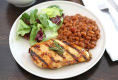 Honey, Lemon & Rosemary Grilled Chicken Recipe | Two Peas & Their Pod