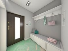 house in pastel colors, interior design, pastele. www.atoato.pl
