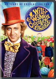 This was my favorite movie ~ We didn't have anything like a VCR around wayyyy back then...  We actually planned ahead to make sure we were home!  :-)  <3 Willie Wonka