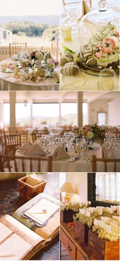 Tablescapes  ~stones wrapped in lace  Flowers By / Steven Bruce Design  Photography By / Charlotte Jenks Lewis Photography