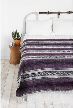 mexican blanket... liking purple suddenly