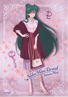 Sailor Pluto, Sailor Mars, Sailor Moon Villains, Sailor Moon Girls, Arte Sailor Moon, Sailor Moon Stars, Sailor Moon Manga, Sailor Moon Crystal, Sailor Moon Halloween