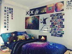 Galaxy nevresim genç odası