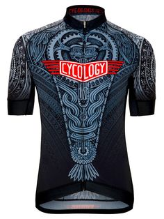 Aztec Mens Cycling Jersey from Cycology.