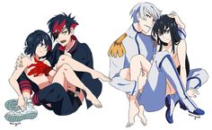 ryuko and human senketsu - Google Search