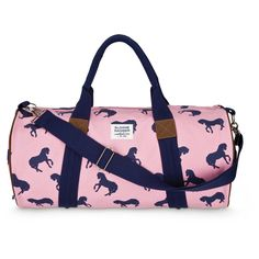Perfect summer travel bag- the horse duffle.