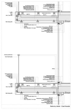 Gallery of – Advanced Architecture Apartments / STARH – 29 Galerie der – Advanced Architecture Apartments / STARH – 29 Architecture Résidentielle, Sustainable Architecture, Japanese Architecture, Contemporary Architecture, Futuristic Architecture, Edwardian Haus, Curtain Wall Detail, Planer Layout, Construction Drawings