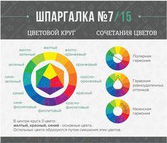 цветовой круг сочетание цветов в фотографии: 21 тыс изображений найдено в Яндекс.Картинках
