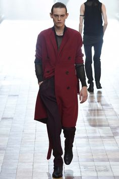 Lanvin Spring 2016 Menswear Fashion Show