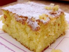 Torta riquísima de naranja / Orange cake recipe in Spanish Pear And Almond Cake, Almond Cakes, Sweet Recipes, Cake Recipes, Dessert Recipes, Food Cakes, Cupcake Cakes, Cupcakes, Delicious Desserts