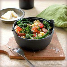 Broccolini Sausage Pasta - TasteFood