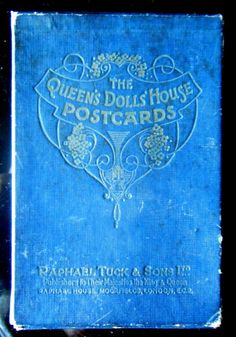 """48 TUCK Oilette postcards, 1924 Wembley """"Queen Mary's Dollhouse"""