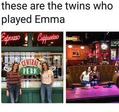 These are the twins who played Emma from Friends. I'm not crying you are Emma From Friends, Friends Cast, Friends Episodes, Friends Moments, Friends Series, Friends Tv Show, Friends Forever, Friends Tv Quotes, Best Tv Shows
