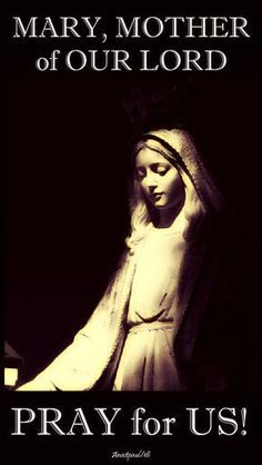 Pinterest Jesus Faith, Word Of Faith, Blessed Mother Mary, Blessed Virgin Mary, Prayer Book, Rosary Prayer, Prayers For Hope, Images Of Mary, Queen Of Heaven