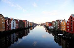Trondheim, Norway - August 2012