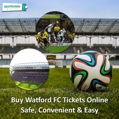 Buy Watford FC tickets online from secondary tickets and marketplace. The safest and the easiest way to book your seat for the next favorite match and enjoy your favorite team playing. Premier League Tickets, Premier League Matches, Football Match, Football Fans, Watford Fc, Buy Tickets Online, Soccer Ball, Book