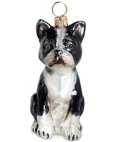 Joy to the World Boston Terrier Ornament - Christmas Ornaments - For The Home - Macy's