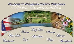 Washburn County Communities