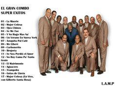 """El Gran Combo - Super Exitos """"Recopilación"""" Duración Total: 1:18:19s Canciones/Tracks: 01 - La Muerte 02 - Mujer Celosa 03 - Ojos Chinos 04 - Se Me Fue 05 - ..."""