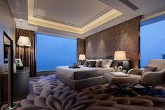 nagyon szép belső Big Bedrooms, Awesome Bedrooms, Modern Master Bedroom, Master Bedroom Design, Furniture Styles, Furniture Layout, Girls Bedroom Furniture, Bedroom Decor, Bedroom Pictures
