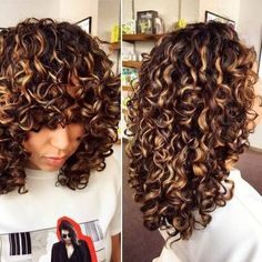 Curls в 2019 г. curly balayage hair, curly hair styles и colored cu Dyed Hair, Hair, Hair Trends, Hair Styles, Natural Hair Styles, Wavy Hair, Balayage Hair Blonde, Balayage Hair Dark, Hair Videos
