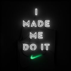 I created various signage & typographic elements for Nike's Woman's Marathon - We Own The Night. I worked closely with Matt Bridge at Nike to bring these neon slogans to life. Andre Beato created the WOTN type, while I designed & lit the neon structures. Running Quotes, Running Motivation, Fitness Motivation Quotes, Weight Loss Motivation, Track Quotes, Workout Quotes, Running Tips, Daily Motivation, Nike Quotes