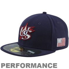World Baseball Classic 2013 United States Official On-Field 5950 Fitted Cap, Blue New Era. $34.13