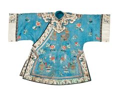 """""""A Chinese lady's brocade silk summer robe"""" (Lot Number 56) 