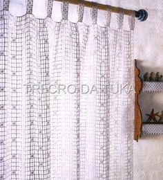 Häkeln & Filethäkeln Lace Gardinen / crochet curtain