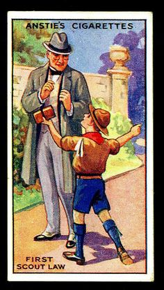Cigarette Card - Scout Series #9 | Flickr : partage de photos !