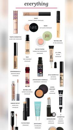 Best Full Coverage Concealer, Fit Me Concealer, Beste Concealer, Concealer For Dark Circles, Make Up Kits, Make Up Geek, Dupe Makeup, Makeup Brush Uses, Skin Makeup