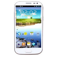 Feiteng H9500 S4 Smart Phone Android 4.2 MTK6589 Quad Core 5.0 Inch HD IPS Screen 5.0MP Front Camera- White