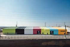 Built by Alison Brooks Architects in , United Kingdom with date Images by Tim Crocker. Alison Brooks Architects has completed the 'Wildspace', a 4000 sq m warehouse refurbishment project in Rainham for cl. Industrial Architecture, Facade Architecture, Alison Brooks, Agricultural Buildings, Environmental Design, Architect Design, Green Building, Urban Design, Exterior Design