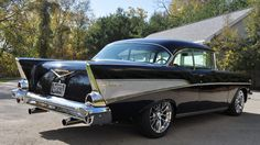 1957 Chevrolet Bel Air Resto Mod presented as Lot at Kissimmee FL 1957 Chevy Bel Air, Chevrolet Bel Air, Corvette C4, American Auto, Car Photos, Cool Cars, Classic Cars, Muscle Cars, Hot Rods