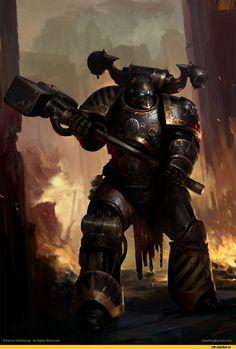 Warhammer 40000,warhammer40000, warhammer40k, warhammer 40k, ваха, сорокотысячник,фэндомы,Konrad Curze,Primarchs,Iron Warriors,Igor Sid,Chaos Space Marine,Chaos (Wh 40000)