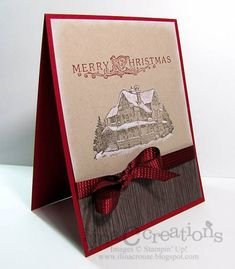 Simple Lodge by ilinacrouse - Cards and Paper Crafts at Splitcoaststampers