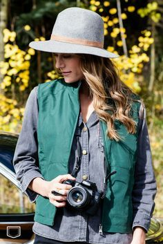 Now in the outlet, the Travel Vest for women! Get ready for Fall this year with Clothing as Original As You Are.