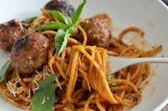Best Ever Spaghetti and Meatballs by theendlessmeal  #Spaghetti #Meatballs