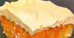 Alohamora: Open a Book: Orange Dreamsicle Poke Cake Dreamsicle Cake Recipe, Creamsicle Cake, Dump Cake Recipes, Cookie Recipes, No Bake Desserts, Dessert Recipes, Party Recipes, Orange Juice Cake, Banana Split Dessert