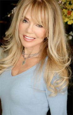 bangs Dyan Cannon talked with KCET about the April 9 screening of the cult classic quot;The Last of Sheila,quot; as well as her friend and co-star, the late James Coburn. Layered Hair With Bangs, Bangs With Medium Hair, Long Layered Haircuts, Haircuts For Long Hair, Long Hair Cuts, Hairstyles With Bangs, Medium Hair Styles, Short Hair Styles, Pixie Haircuts