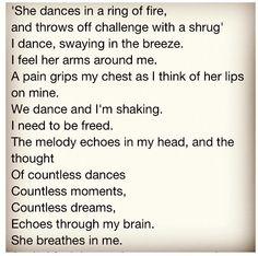Jim Morrison's poem for Pamela ❤